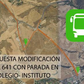 LINEA DE AUTOBÚS QUE CONECTE VALDEMORILLO CON VILLANUEVA DE LA CAÑADA